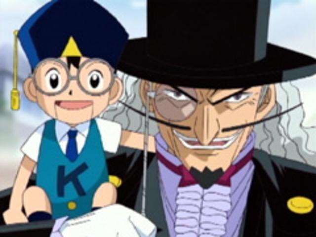 ナゾナゾ博士&キッド