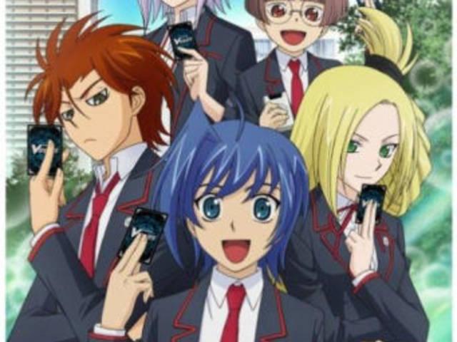 カードバトルゲームアニメ人気投票。